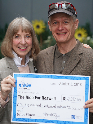 With my friend Candace Johnson, Roswell's CEO.